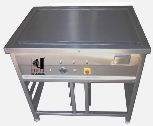 Teppanyaki Unit customised manufacturing as per requirement available in electric or gas. Table top or stand alone units. - by Ambica Sales & Services, Mumbai Suburban