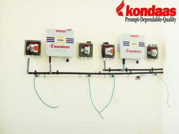 Kondaas Inverters: An inverter, is an electronic gadget or hardware that progressions direct present (DC) to rotating current (AC).The info voltage, yield voltage and recurrence, and general force taking care of rely on upon the outline of  - by Kondaas Automation Pvt.Ltd, Coimbatore