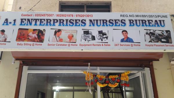 A ONE ENTERPRISES NURSES BUREAU BEST SERVISES PROVADED IN pune and mumbai . CALL US - 9768838888 / 9029021978/9762013013 / 02024575007 www.a1enb.com - by A-1 Enterprises Nurses Bureau@...02024575007/9768838888, Pune