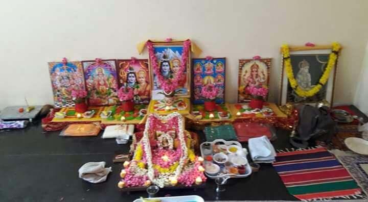 Thursday 18th August grihprawesh and rudrabhishek puja btm layout bangalore.pandit shankar shastri call and visite:www.bangalorenorthindianpandit.com - by Bangalorenorthindianpandit.com, Bengaluru