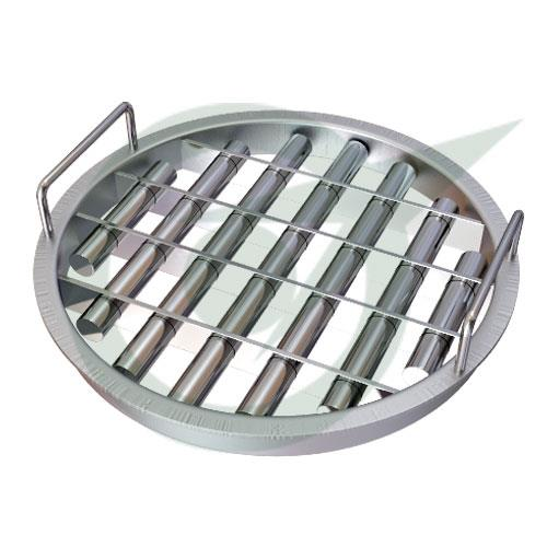 Grill Magnets are also known as Magnetic Grates and the leading Manufacturer and Supplier of it in Chennai is Star Trace. The unique arrangement of magnetic tubes in Magnetic Grates makes sure that every single ferrous contaminant is trappe - by Star Trace Pvt Ltd, Chennai