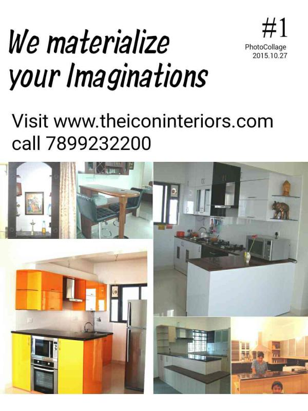 Modular Kitchen dealers in Bangalore. www.theiconinteriors.com - by Shaallwe Interiors Products, Bangalore
