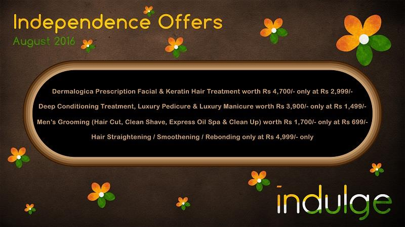 Straightening @4999, Dermalogica Facial with Keratin Treatment @2999, Deep Conditioning with Luxury Pedi & Mani @1499, Men's Grooming @699 - by Indulge The Salon, Bhubaneswar