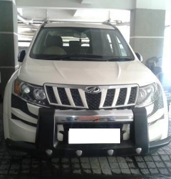 MAHINDRA XUV 500 W8 FWD:MODEL 02/2013, KM 58814, COLOUR WHITE, FUEL DIESEL, PRICE 1150000 NEG.USED VEHICLE FOR SALE COMPLEAT SHOWROOM TRACK.  - by Nani Used Cars, Hyderabad