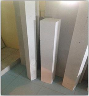 Easy and fast to install.Avoids the use of wood forming and waiting times for hardening.lintels are special load-bearing reinforced products. They serve as beams to support the weight of the wall (live, dead and wind) over window or door op - by YASH ASSOCIATE, Ahmedabad