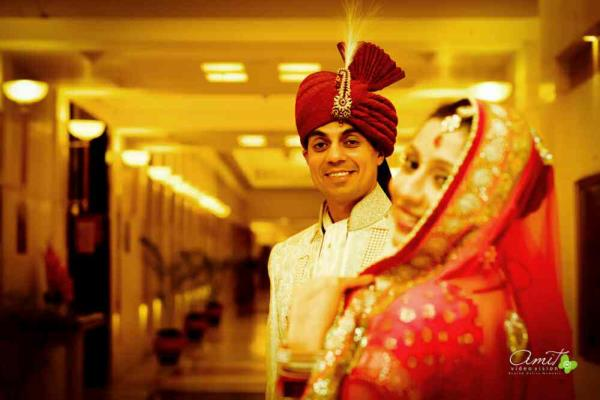 Exclusive bride and groom photography in Delhi,  We do pre wedding photography,  Wedding cinematography,    For further details contact : www.amitvideovision.com - by Amit Video Vision, New Delhi