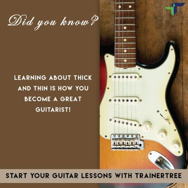 Getting to know your Guitar? Start your Guitar lessons with TrainerTree and learn from the basics. www.trainertree.com   Learn Guitar. Learn Anything With TrainerTree. Guitar teacher in Delhi. Guitar teacher in Gurgaon. - by TrainerTree, New Delhi