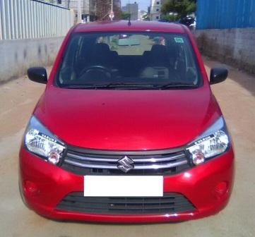 MARUTI SUZUKI CELERIO VXI:MODEL 01/2014, KM 11052, COLOUR RED, FUEL PETROL, PRICE 490000 NEG.USED VEHICLE FOR SALE COMPLEAT SHOWROOM TRACK - by Nani Used Cars, Hyderabad