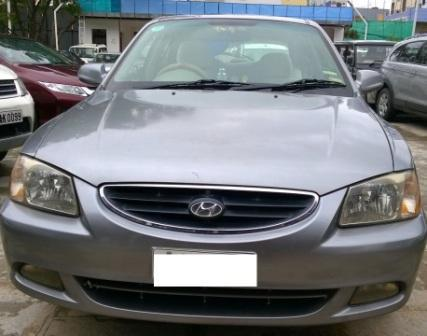 HYUNDAI ACCENT CRDI:MODEL 09/2006, KM 91000, COLOUR GREY, FUEL DIESEL, PRICE 160000 NEG.USED VEHICLE FOR SALE COMPLEAT SHOWROOM TRACK - by Nani Used Cars, Hyderabad