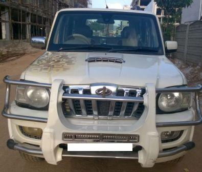 MAHINDRA SCORPIO VLX 2.2 HAWK:MODEL 03/2011, KM 60000, COLOUR WHITE, FUEL DIESEL, PRICE 750000 NEG.USED VEHICLE FOR SALE COMPLEAT SHOWROOM TRACK - by Nani Used Cars, Hyderabad