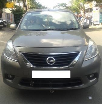 NISSAN SUNNY XV:MODEL 01/2013, KM 43229, COLOUR GREY, FUEL DIESEL, PRICE 800000 NEG.USED VEHICLE FOR SALE COMPLEAT SHOWROOM TRACK - by Nani Used Cars, Hyderabad