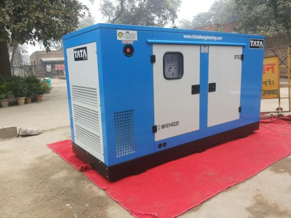 Rishabh Silent Industrial Diesel Generator Dealer & Supplier In Delhi (NCR), Uttar Pradesh, India  Silent Diesel Generators Powered by Tata Engine sets the standard for our industry. Our Product line of Industrial, Residential Silent Diesel - by Rishabh Engineering Co., Ghaziabad