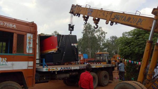 Unloading in progress  - by GMT ENGINEERS (P) LTD, chennai
