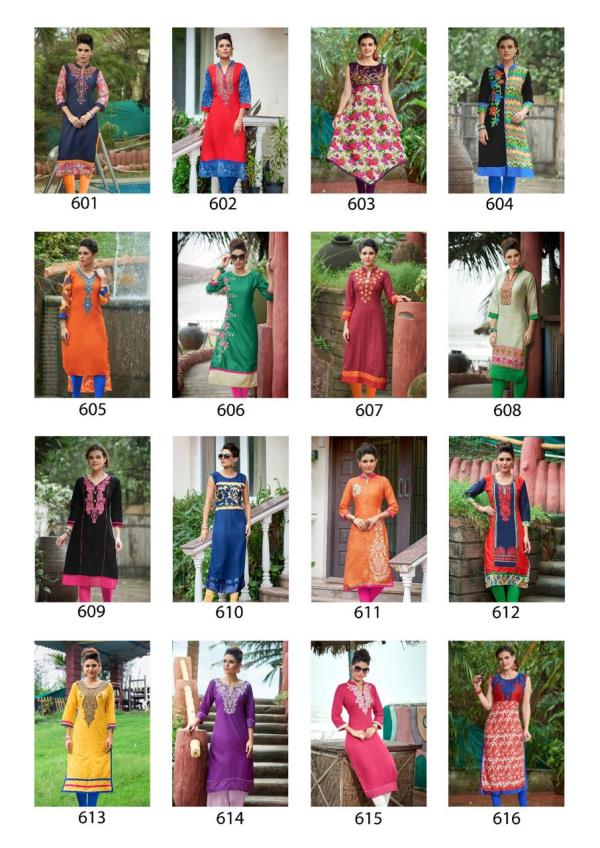 Catalog :👗BUTTERFLY VOL-6👗   TYPE: RAYON SATIN LOAN WITH BEAUTIFUL  EMBROIDERED  KURTI               Size :     L                     40        Fabric : RAYON SATIN LOAN Length : 45 INCHES Price : 395/- Pieces :  16 BAG PRICE : 6320/- If  - by O Womaniya, Pune