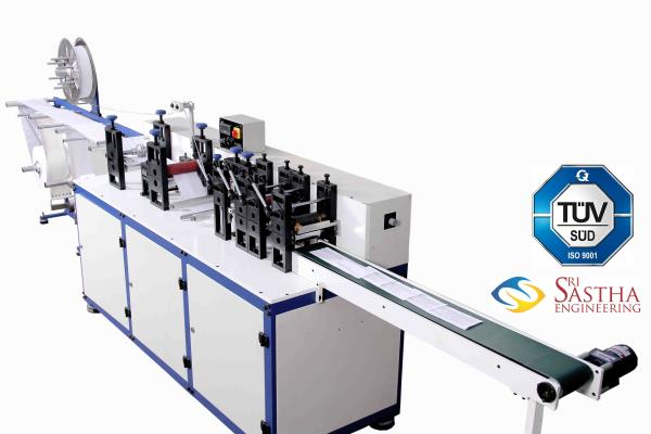Leading Surgical Face Mask Machine Mfr In India, Cost-effective options on Surgical Face Mask Machine at Sri Sastha Engineering. Get deals like no other only at Sri Sastha Engineering.