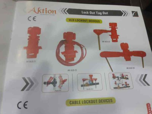 Loto Lockout Tagout Items Manufacturer in India. Loto Aktion ìtems . www.loto.co.in - by Aktion Safety Solutions Pvt. Ltd., New Delhi