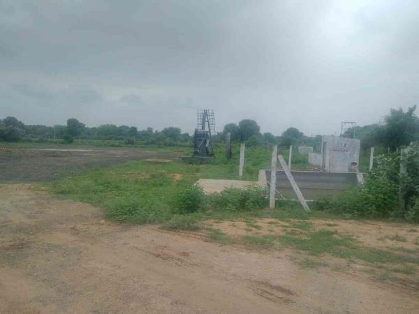 Site inspection for new Asphalt Mixing Plant for interior roads for ONGC oil well