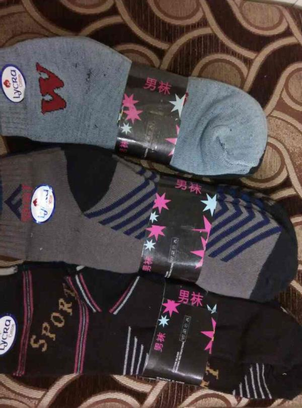 Mens cotton socks are available for wholesale and retail - by SV FOOTCARE, Ahmedabad
