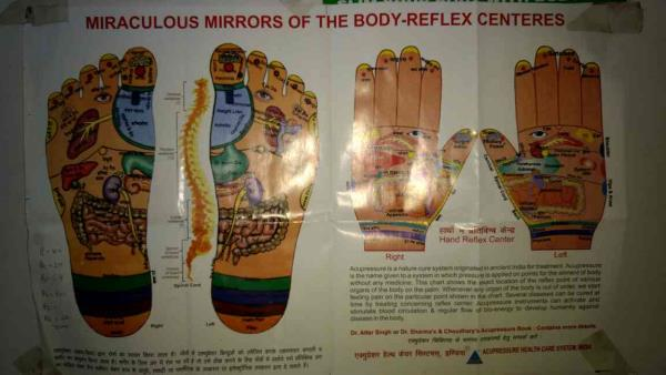 We are service provider of acupressure point. It's working for knee pain, back pain.