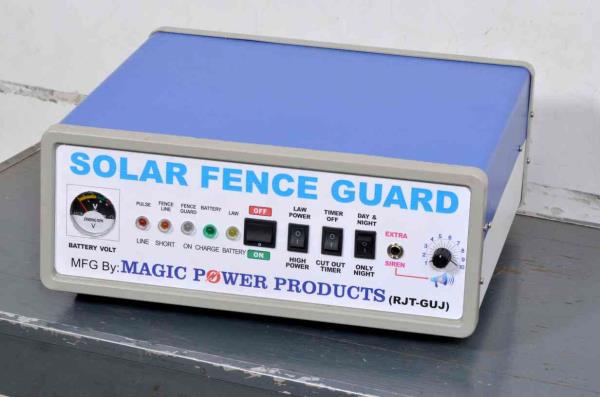 MAGIC POWER PRODUCTS SOLAR FENCE GUARD MANUFACTURERS IN RAJKOT - by Magic Power Products, Rajkot