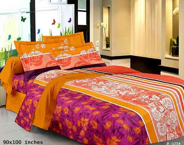 Cotton Bedsheet with premium fabric. We have wide range of this bedsheet to cater bulk order. Manufacturer | Exporter | Ahmedabad