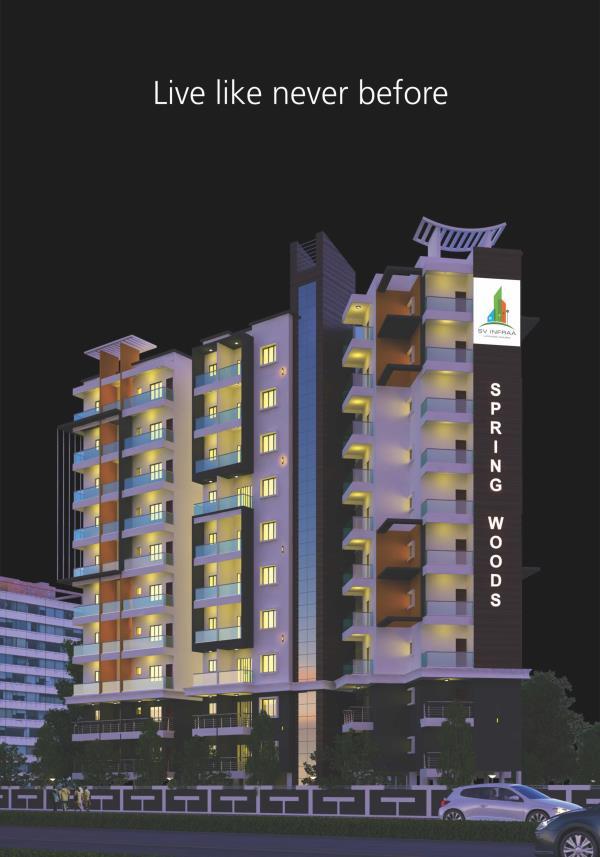 Luxurious and Spacious Flats available for Royal Life at Kanakapura Road, Bangalore - by SV Infraa, Bangalore