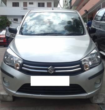 MARUTI SUZUKI CELERIO VDI:MODEL 09/201, KM 12029, COLOUR SILVER, FUEL DIESEL, PRICE 540000 NEG.USED VEHICLE FOR SALE COMPLEAT SHOWROOM TRACK - by Nani Used Cars, Hyderabad