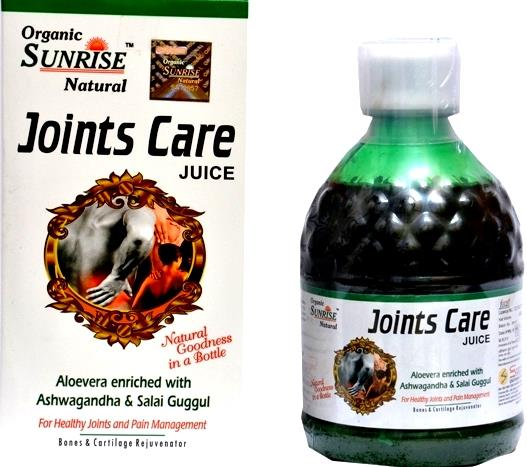 Organic Joints Care Juice:                            Organic Sunrise Natural Joints Care Juice Its a Joint Pain Remedy for Men and Women . We are a well known manufacturer of Orthonil Syrup . These medicines are widely used in many disease - by Sunrise Agriland-- Manufacturer Of Herbal products, Jaipur