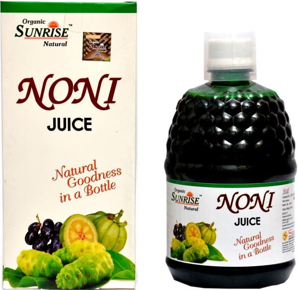 Organic Noni Juice:                              Organic Sunrise Natural Noni juice is also known as Marinda Citrifolia has been used for more than 2000 years to support the entire body function. It is very beneficial in symptoms like poor  - by Sunrise Agriland-- Manufacturer Of Herbal products, Jaipur