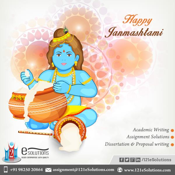 """Always try to do the things told by #Krishna and behave like a lord #Rama WISH U VERY #HAPPYJANMASHTAMI"" #121esolutions  - by 121eSolutions, London"