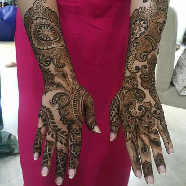 Mehandi Designer  Colour Bhi Design  - by Anuj Mehandi Artist, New Delhi