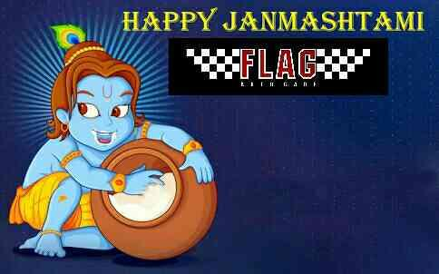 Happy Janmastami....May Lord Krishna give us Health and Prosperity :) - by Flag Autocare, Hyderabad