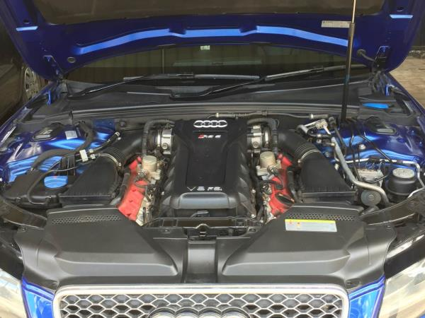 We're doing now AUDI RS 5 general service from YESMOTOR........ - by YES MOTOR, bangalore