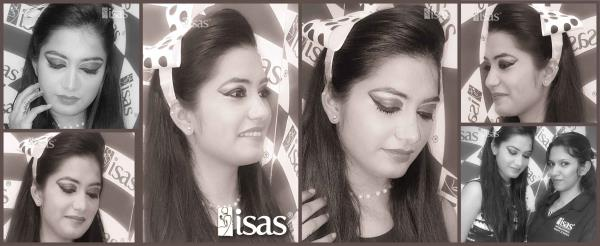 ISAS Student Practicals  Hair Style & Makeup done by ISAS Students Pune !  Enroll Today !  Only @ ISAS, International Beauty School !  Certificate & Diploma Courses: #Creative_Hair_Designing #Advance_Beautytherapy #SpaTherapy #Personal - by ISAS Ahmedabad, Ahmedabad