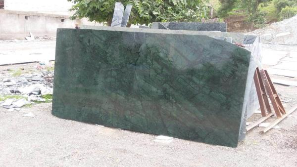 Indian green marbles  - by Axiom Exports, Jaipur