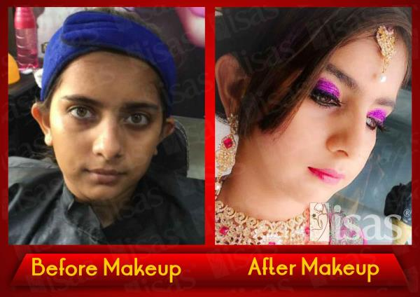 ISAS Student Practicals  Makeup Done by ISAS Students Ahmedabad !  Enroll Today !  Only @ ISAS, International Beauty School !  Certificate & Diploma Courses: #Creative_Hair_Designing #Advanced_Beauty_& _ #SpaTherapy #Personal_Grooming #Prof - by ISAS Ahmedabad, Ahmedabad
