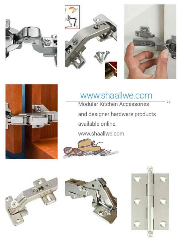 Furniture hardware fittings in Trivandrum. www.shaallwe.com - by Shaallwe Interiors Products, Bangalore