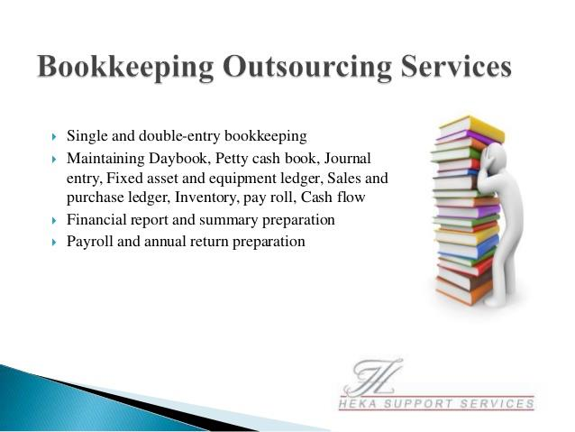 key points of accounts outsourcing