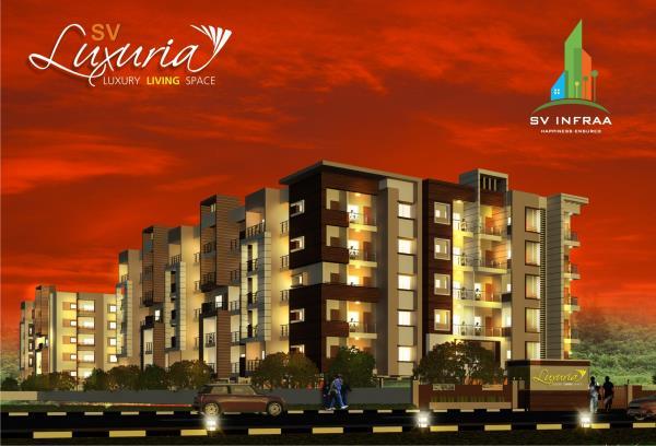 SV Luxuria Offers Luxury 2& 3Bhk flats for sale Near Nice road, Kanakapura Main road - by SV Infraa, Bangalore