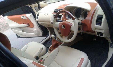 honda city dolphin in tan and beige