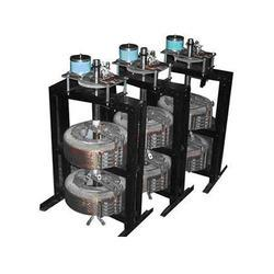 COSMOSTAT variac is continuously variable autotransformer, having a single layer winding on a toridol core of high-grade cold rolled grain oriented (CRGO) steel. On one face of the copper winding along the periphery, a special durable conta - by Cosmostat Industries, New Delhi