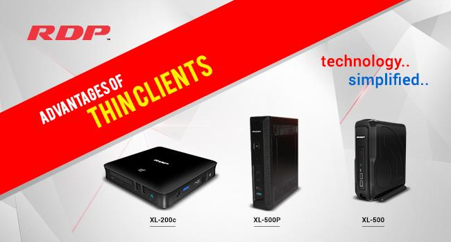 Advantages of Thin Clients In Education & Corporate Industry    (Thin Clients Uses | Thin Client Prices | Thin Clients in India)  Thin Clients are Substitute to PC's with its ample of advantages, blazing performance and Intuitive Manageabi - by RDP, Mumbai