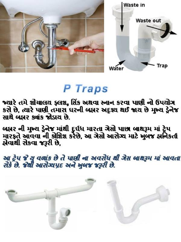 Wash Basin Traps are Important for Health