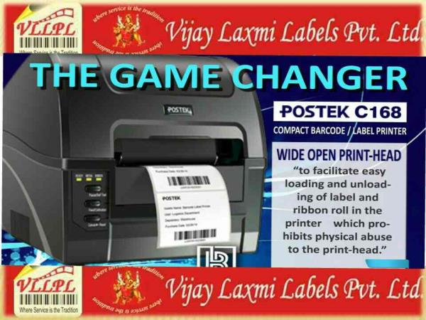 Postek barcode printer C168,  By Vijay laxmi labels private limited,  The best printer in its class, with 3 years Warranty, - by Vijay Laxmi Labels Pvt Ltd - Label Manufacturer Delhi, New Delhi