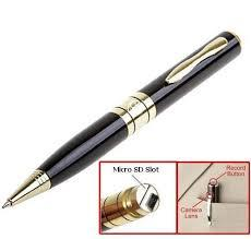 Spy pen camera  *Video compression: AVI video format. It can be used as USB drive/pen/camera *Charge through USB Cable . *Color video with voice. support SD Card , Support up to 16GB *Video playback on PC *Connection Interface: USB 2.0 *30  - by Spy/Hidden/Pen Camera-9266944466, Delhi