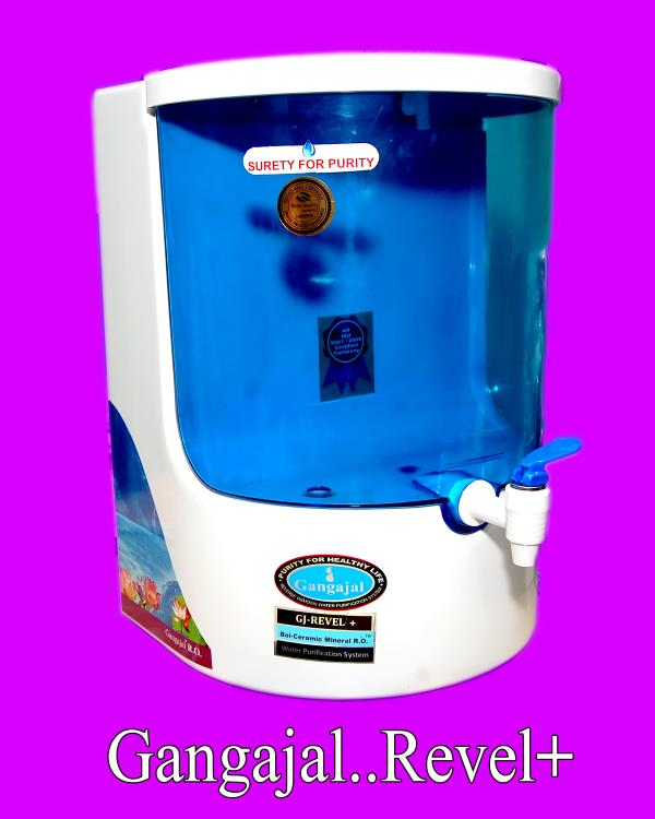 Gangajal - Revel+ Price. 12990/- RO+UV+UF+TDSC with Bio-Ceramic Mineral technology and fully automatic systems  For More Info. www.gangajalro.in - by Gangajal RO Systems Pvt Ltd, New Delhi