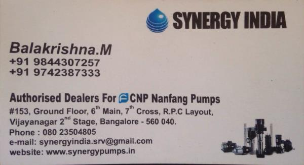 For high pressure pumps