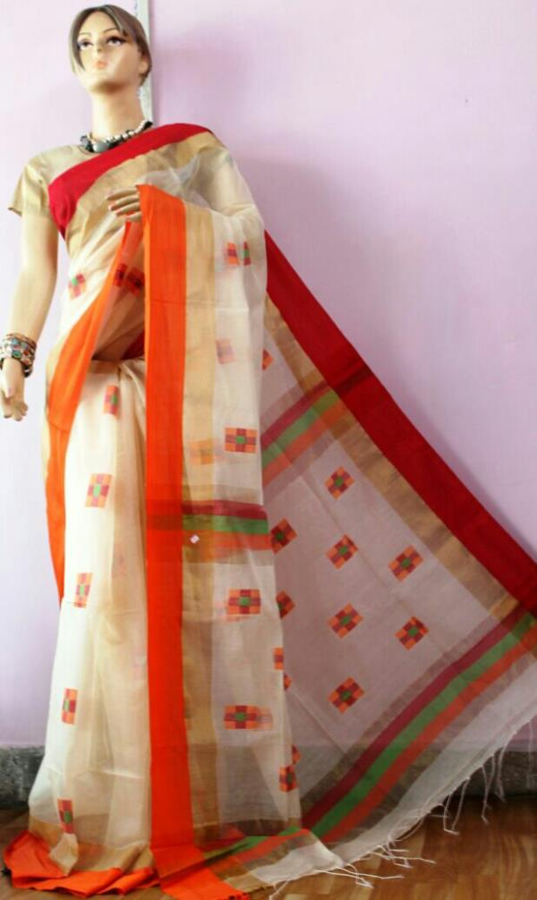 Rubina collections Best quality and reasonable rate on Handloom/silk/Georgette /shiffon  - by Rubina Collections, Delhi