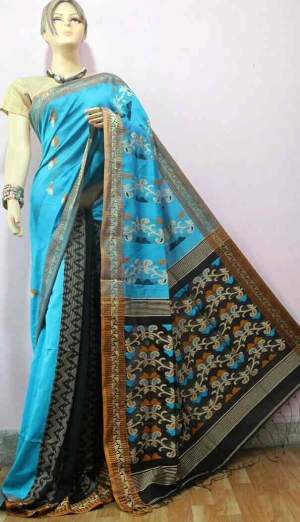 Rubina Collections  Best quality  and reasonable rate on Handloom / silk / Georgette / shiffon  - by Rubina Collections, Delhi