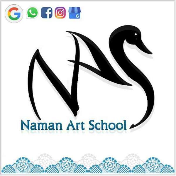 Naman Art school logo free download - by Naman Art School, Bareilly